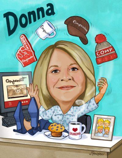 Donna – 5 Year Companion