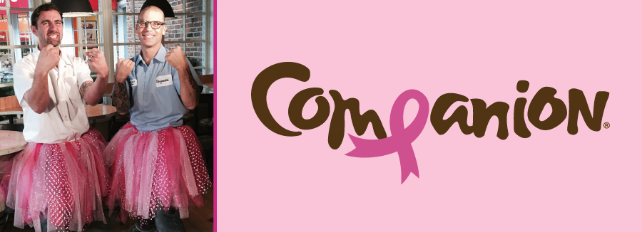Help Companion Support National Breast Cancer Awareness Month